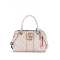 GUESS kabelka Bluebelle Logo Box Satchel blush vel.