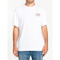Element HIGH STAKES OPTIC WHITE pánské tričko s krátkým rukávem - M