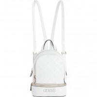 GUESS batoh Skye Debossed Logo Backpack bílý vel.