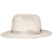 Brixton COBURN CREAM pánský plátěný klobouk - M
