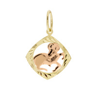 Zlato Zlatý přívěsek znamení zvěrokruhu 3220066 Znamení zvěrokruhu: Beran