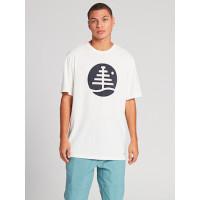 Burton FAMILY TREE STOUT WHITE pánské tričko s krátkým rukávem - M