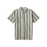 Billabong SUNDAYS JAQUARD white pánská košile krátký rukáv - L