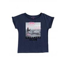 Roxy GIRLFRIEND MOOD INDIGO dětské tričko s krátkým rukávem - 14/XL