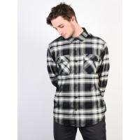 Burton BRIGHTON TECH TRUE BLACK LAHOMBRE pánská košile dlouhý rukáv - M