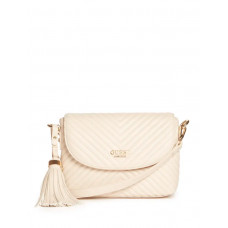 GUESS kabelka Khloe Quilted Crossbody stone vel.