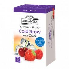 Ahmad Ledový čaj Fruit Infusion, 20x2g alu sáčků