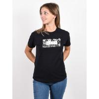 Roxy EPIC AFTERNOON CORPO ANTHRACITE dámské tričko s krátkým rukávem - XS