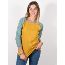 Burton CARATUNK HVSTGD/TRLLIS dámské tričko s dlouhým rukávem - M