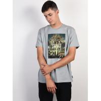 Billabong TEMPTATION DARK GREY HEATHER pánské tričko s krátkým rukávem - L