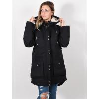 Volcom Walk On By black zimní bunda dámská - L