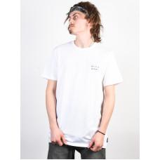 Billabong DIE CUT THEME white pánské tričko s krátkým rukávem - XL