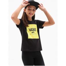 Vans ZOO BOX black dětské tričko s krátkým rukávem - M