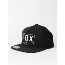 Fox Shielded black pánská kšiltovka