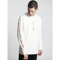 Element TAKASHI off white pánské tričko s dlouhým rukávem - L