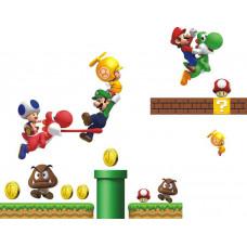 Samolepka Super Mario Velikost: 72 x 60 cm
