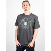 Element SWIVEL CHARCOAL HEATHER pánské tričko s krátkým rukávem - M