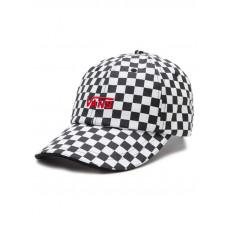 Vans HIGH STANDARD Black/White Checkerboard baseball čepice