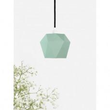 Závěsné svítidlo GANTLights, zelený porcelán, matný