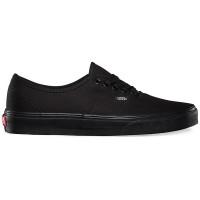 Vans AUTHENTIC BLACK/BLACK pánské letní boty - 38,5EUR