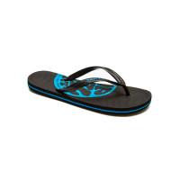 Rip Curl SNAPPER PRINT BLACK/BLUE plážovky - 46EUR