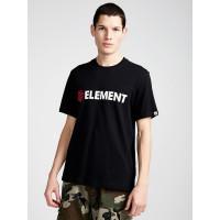 Element BLAZIN FLINT BLACK pánské tričko s krátkým rukávem - M