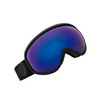 Electric MASHER MATTE BLACK BROSE/BLUE CHROME pánské brýle na snowboard