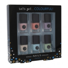 2K Let's Get Colourful! Pastels Nail Polish Set