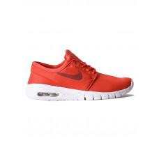 Nike SB Stefan Janoski Max ( TRACK RED/CEDAR-WHITE dětské letní boty - 38EUR