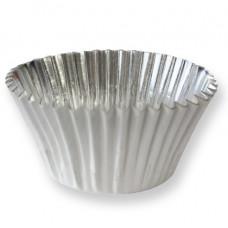 PME Košíčky s fólii, Bílé; 30 ks, pr.50 mm, v.35 mm