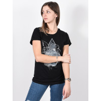 Volcom Radical Daze black dámské tričko s krátkým rukávem - M