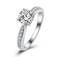OLIVIE Stříbrný zásnubní prsten COURTNEY 4133 Velikost prstenů: 6 (EU: 51 - 53)
