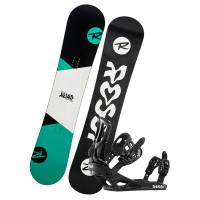 Rossignol Alias+Battle B&W dětský snowboardový set - 140