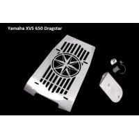 Yamaha XVS 650 Drag Star kryt motoru chromovaný - 6613