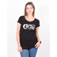 Picture Fall black dámské tričko s krátkým rukávem - XS