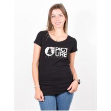 Picture Fall black dámské tričko s krátkým rukávem - M