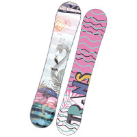 Trans FE rocker fullrocker white snowboard - 143