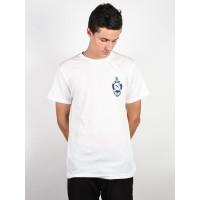 RVCA SEA LIFE ANTIQUE WHITE pánské tričko s krátkým rukávem - XL
