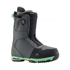 Burton IMPERIAL gray/green pánské boty na snowboard - 44EUR