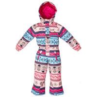ROJO GIRLS ONESIE FOLKLORE PRINT dětská zimní bunda - 6