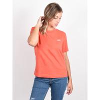Vans JUNIOR V BOXY Paprika dámské tričko s krátkým rukávem - M