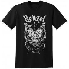 REUZEL Pig With Horns T-Shirt Black X-Large