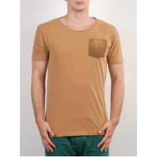 RVCA REVERSE POCKET GAZELLE pánské tričko s krátkým rukávem - S