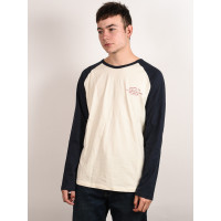 Rip Curl SURF SUPPLY CO. dark blue pánské tričko s dlouhým rukávem - L