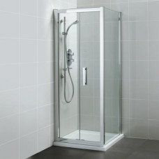 Ideal Standard Boční stěna 800 mm, lesklý stříbrná/čiré sklo L6400EO