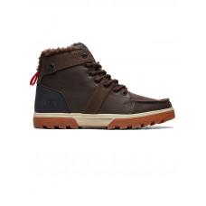 Dc WOODLAND BROWN/GREEN/BLACK pánské boty na zimu - 43EUR