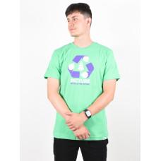 Picture Recycled green pánské tričko s krátkým rukávem - L