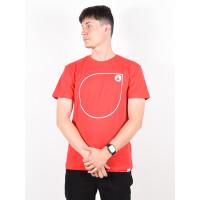 Picture Simpo RED pánské tričko s krátkým rukávem - XL