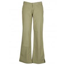 Roxy QFWPT362 GRN plátěné sportovní kalhoty dámské - S