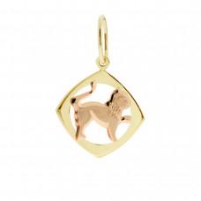 Zlato Zlatý přívěsek znamení zvěrokruhu 3220067 Znamení zvěrokruhu: Lev